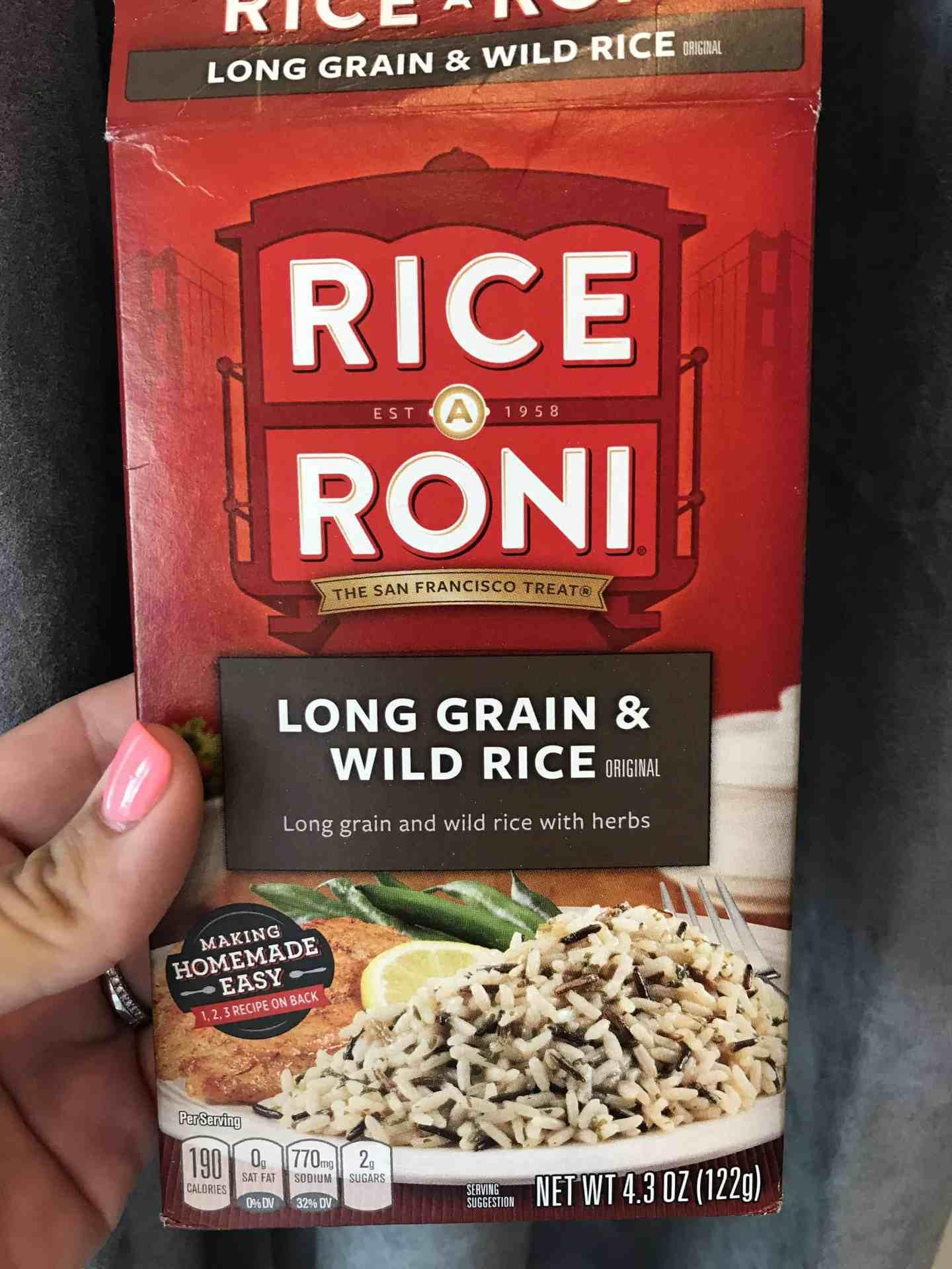 crock pot chicken + wild rice casserole