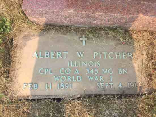 albert w pitcher