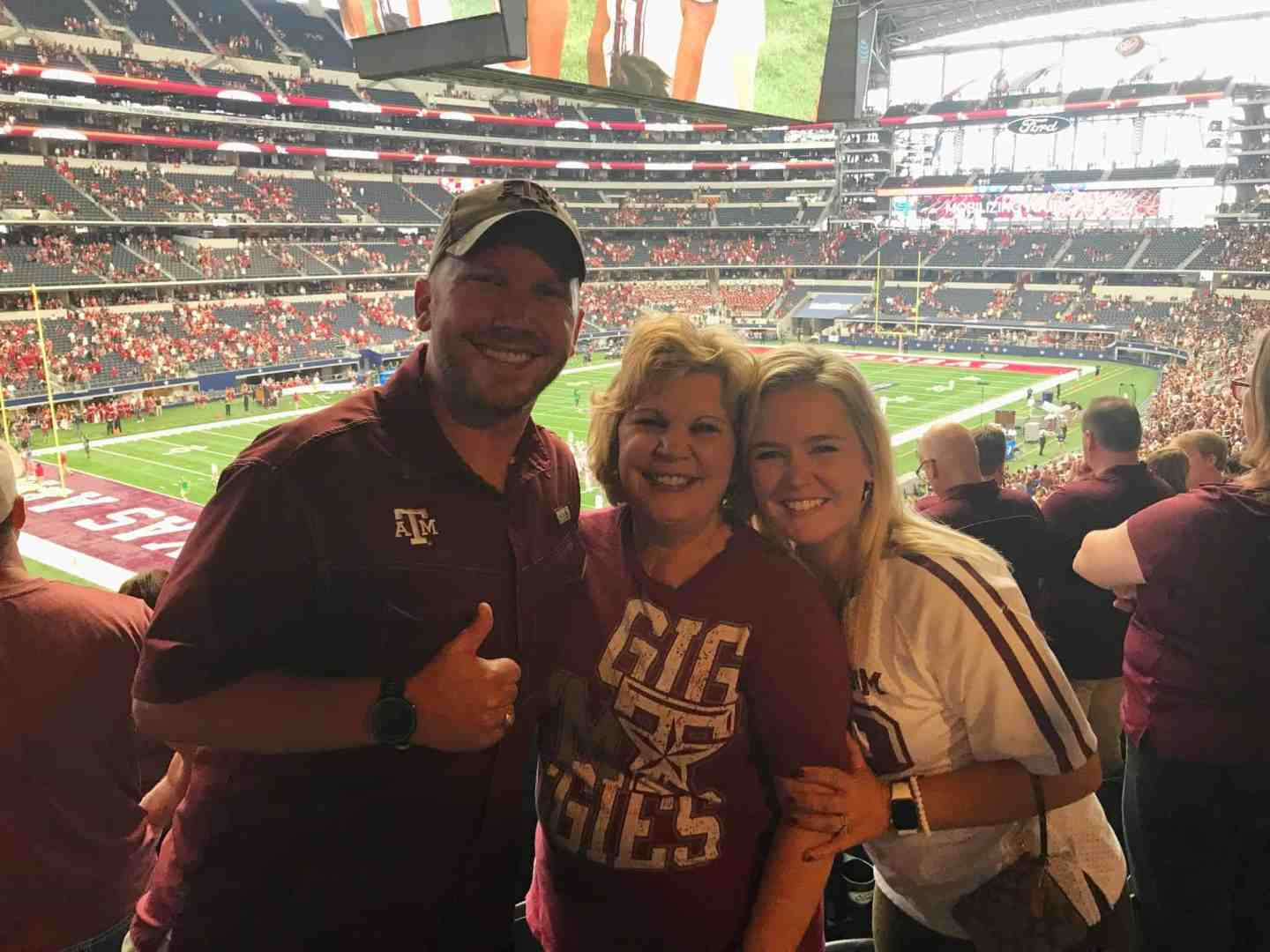 A Trip to Dallas for Some Aggie Football