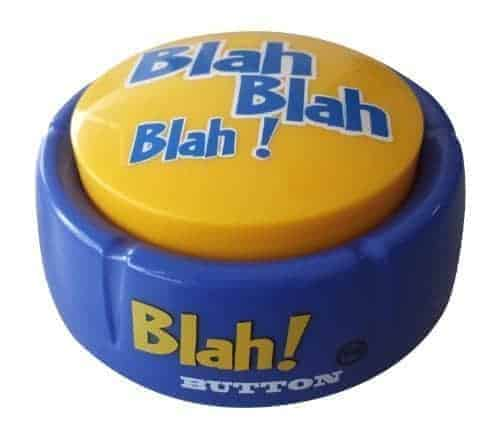 Blah Button