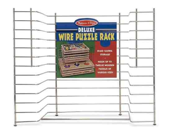 Deluxe Metal Puzzle Rack