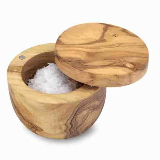 Olivewood Salt Keeper Williams Sonoma