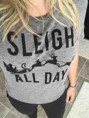target sleigh all day shirt
