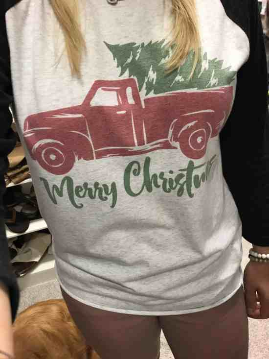 vintage holiday shirt jane