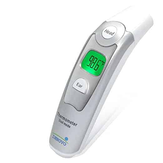innovo ear and forehead thermometer