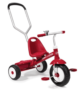 radio flyer deluxe steer and stroll trike