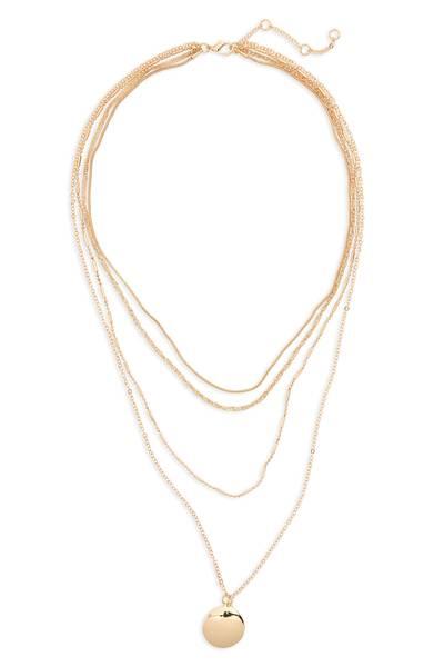 BP Layered Pendant Necklace