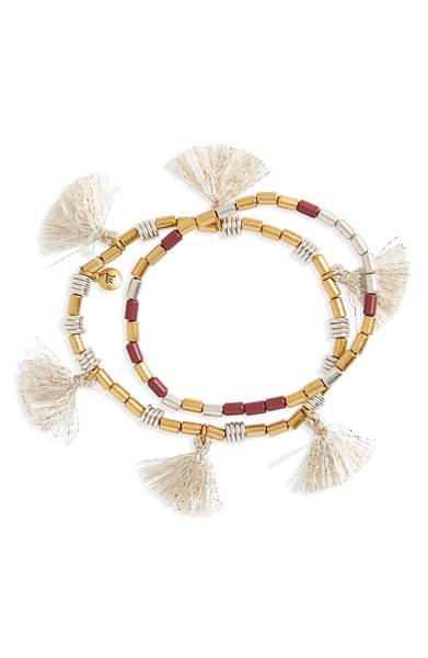 Madewell Tassel Bracelets 2