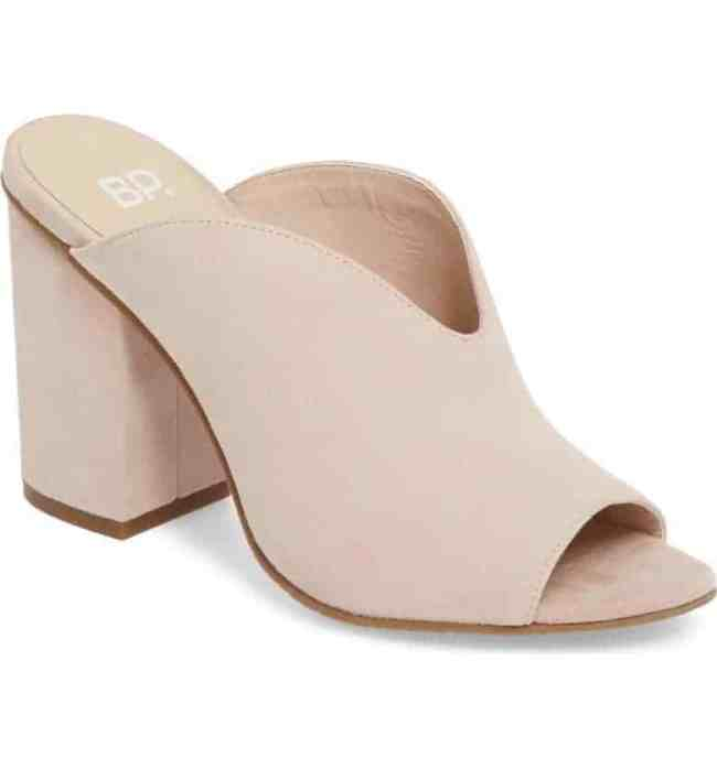 BP Tonya Open Toe Mule