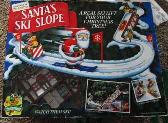 santas ski slope