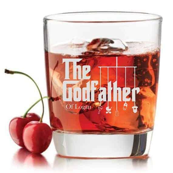 godfather whiskey glass