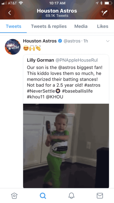 astros batting stance kid