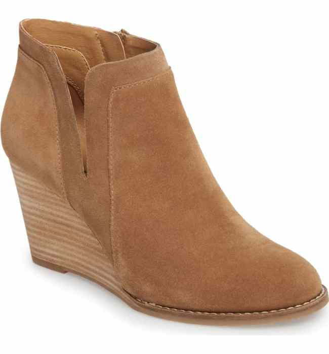 Lucky Wedge Bootie