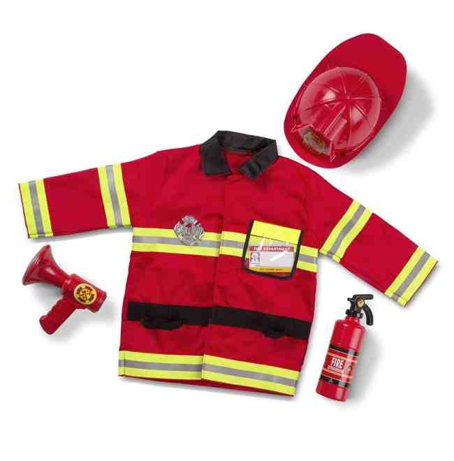 Melissa & Doug Fire Fighter Costume