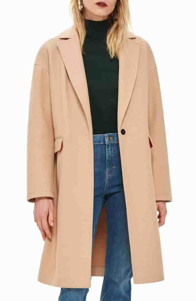Top Shop Midi Coat