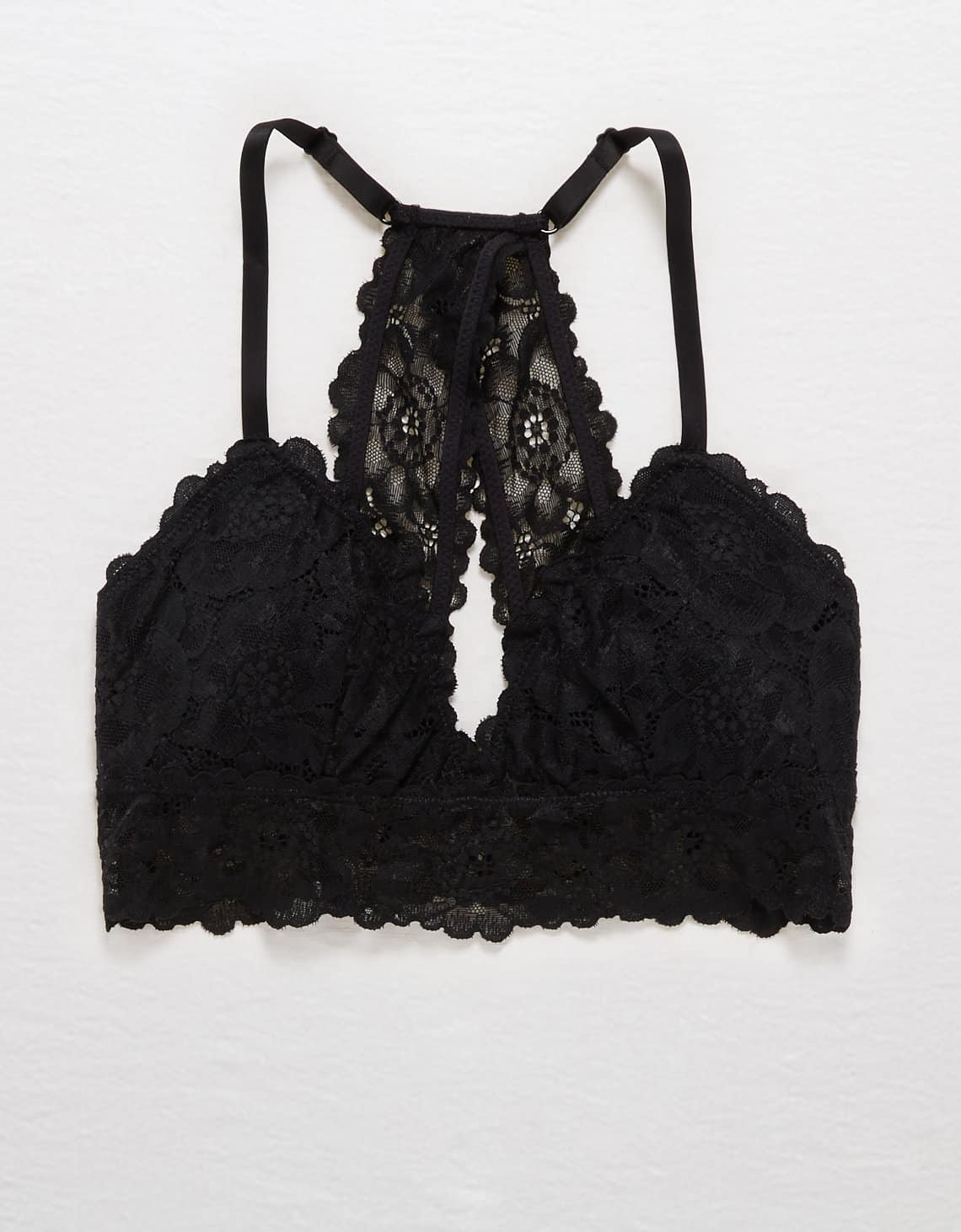 AERIE POPPY LACE PADDED BRALETTE