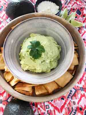 Avocado and Goat Cheese Dip