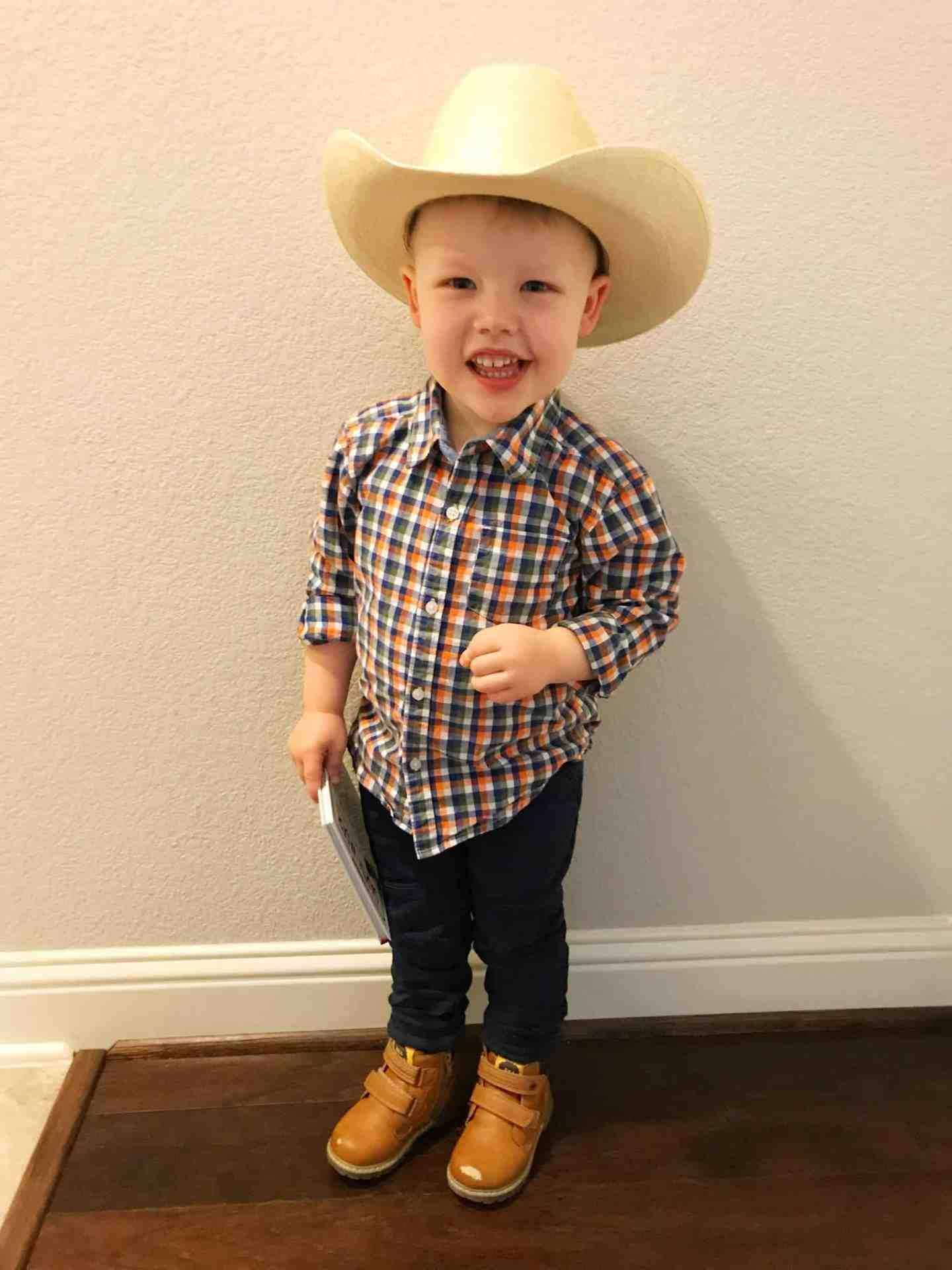 Toddler Cowboy Martin Boots
