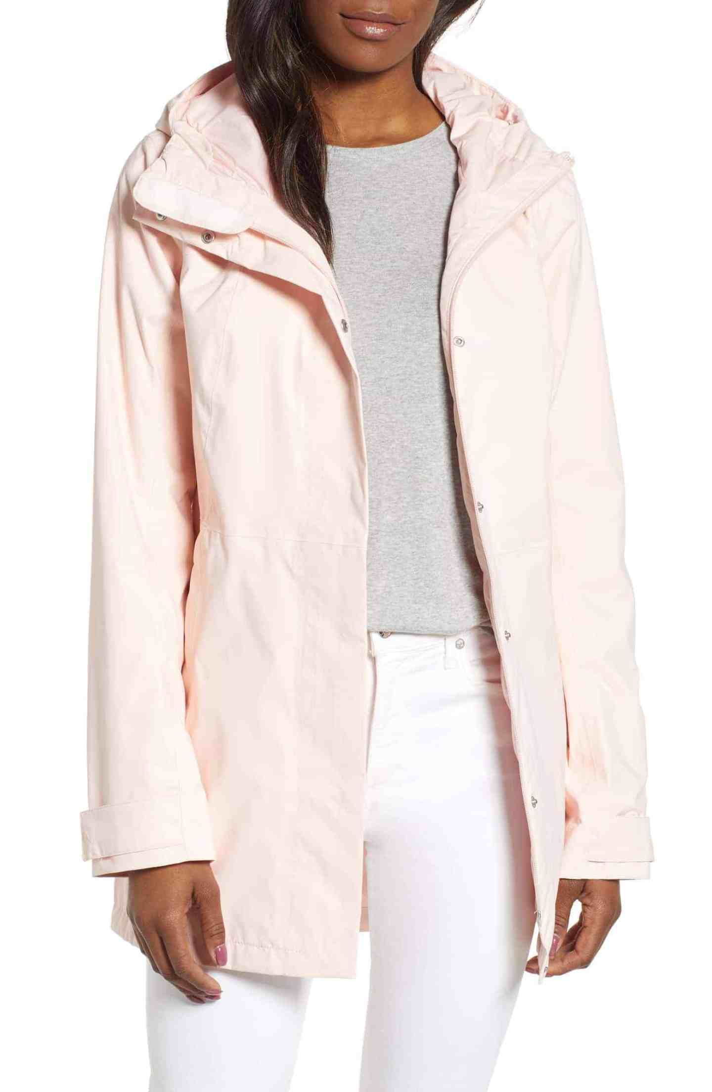 North Face Midi Trench Coat