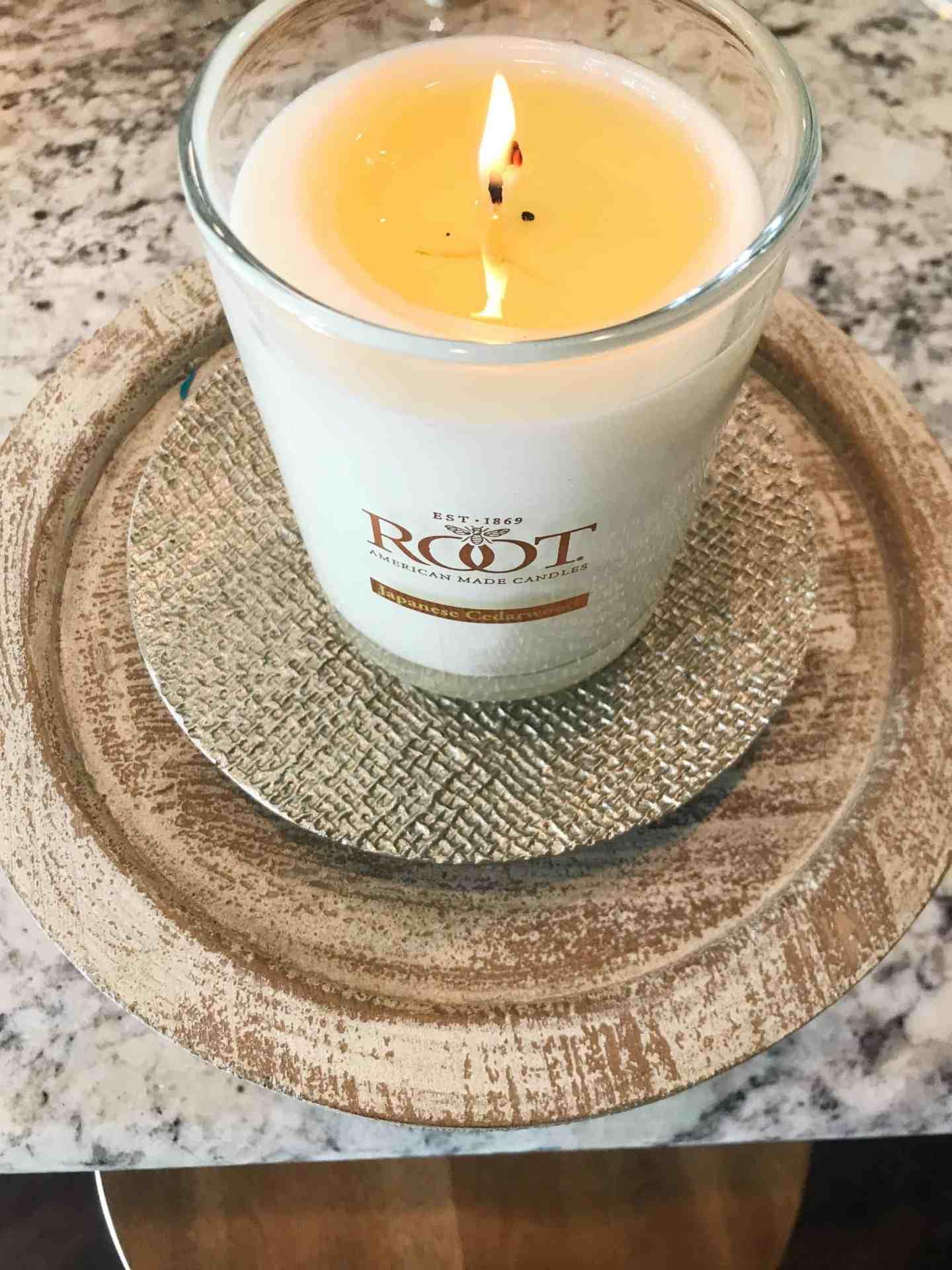 Root Candle Japanese Cedarwood