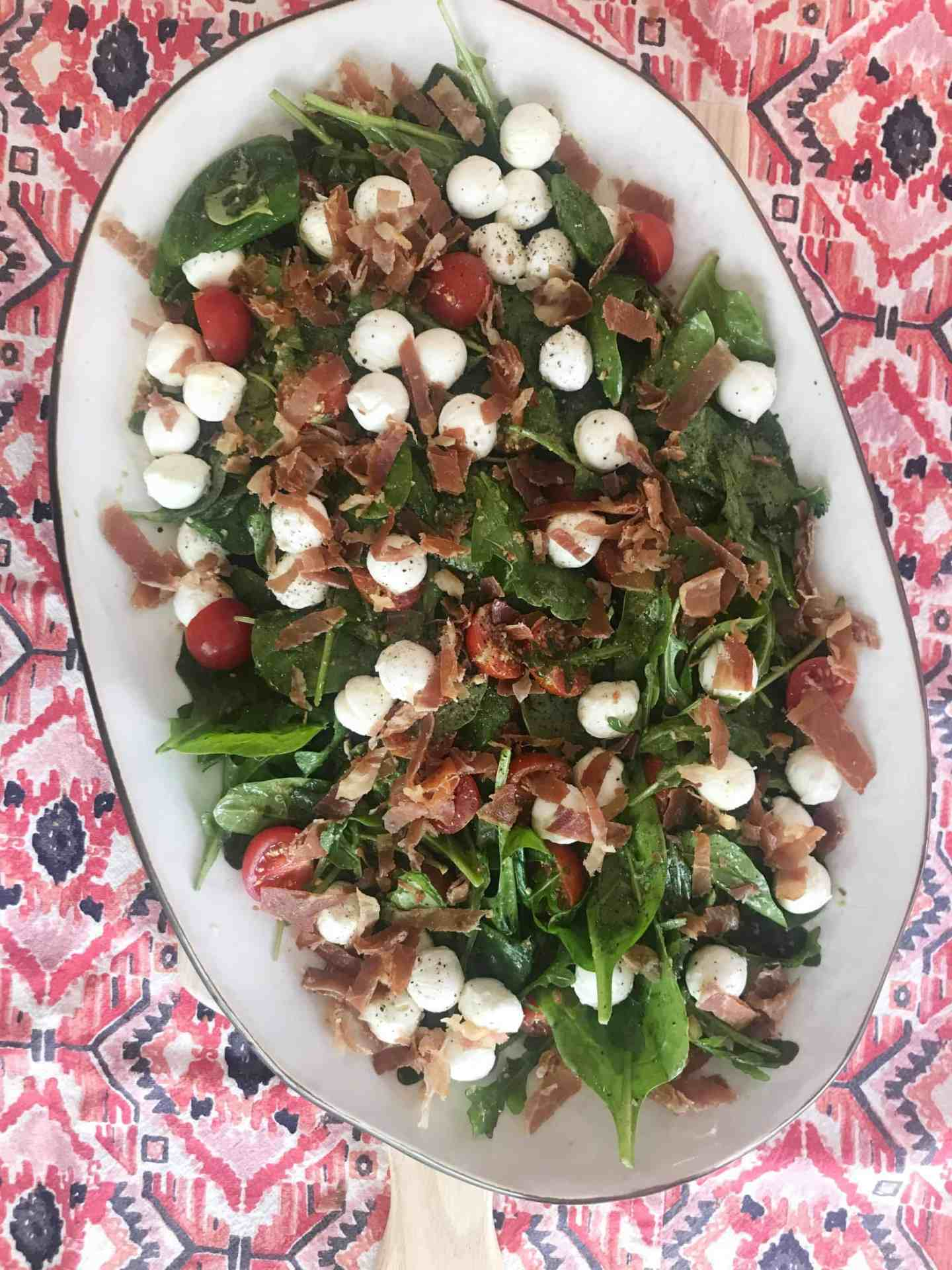 One Upper Caprese Salad
