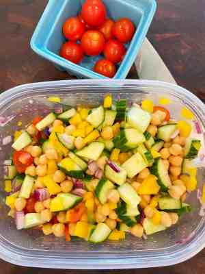 Mediterranean-Chickpea-Salad-vegetables-healthy