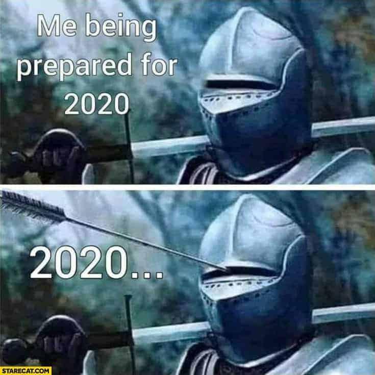 me-being-prepared-for-2020-full-armor-helmet-gets-hit-by-an-arrow-in-the-eyes
