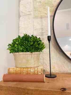 fireplace-mantle-decor-greenery