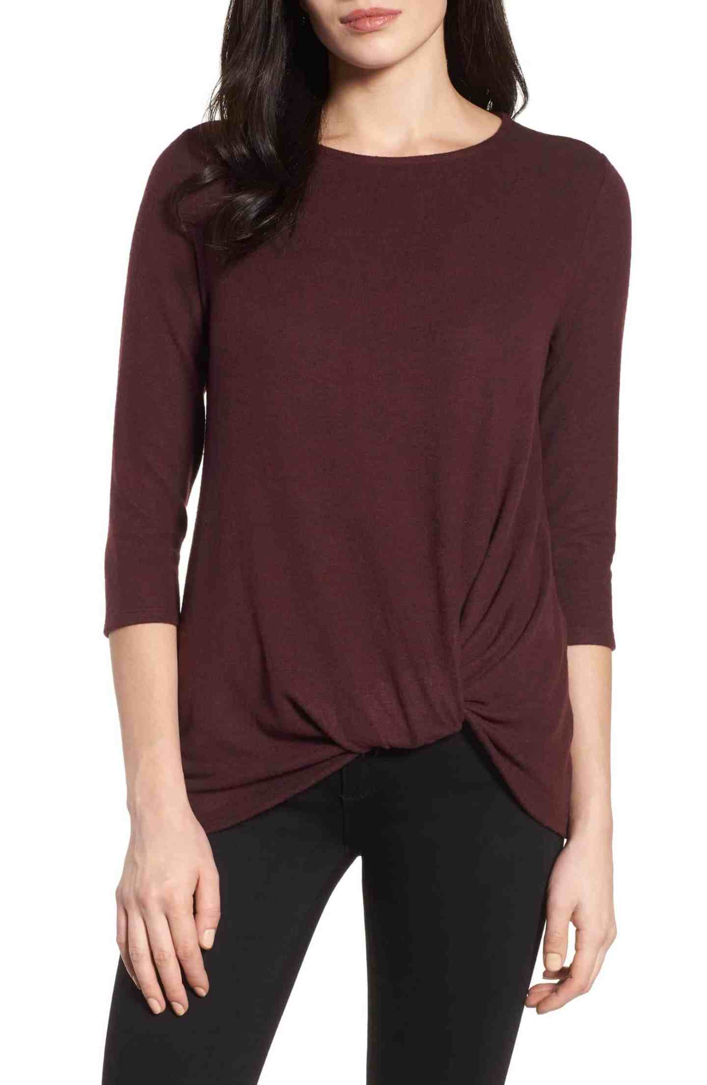 Cozy-Twist-Front-Sweater