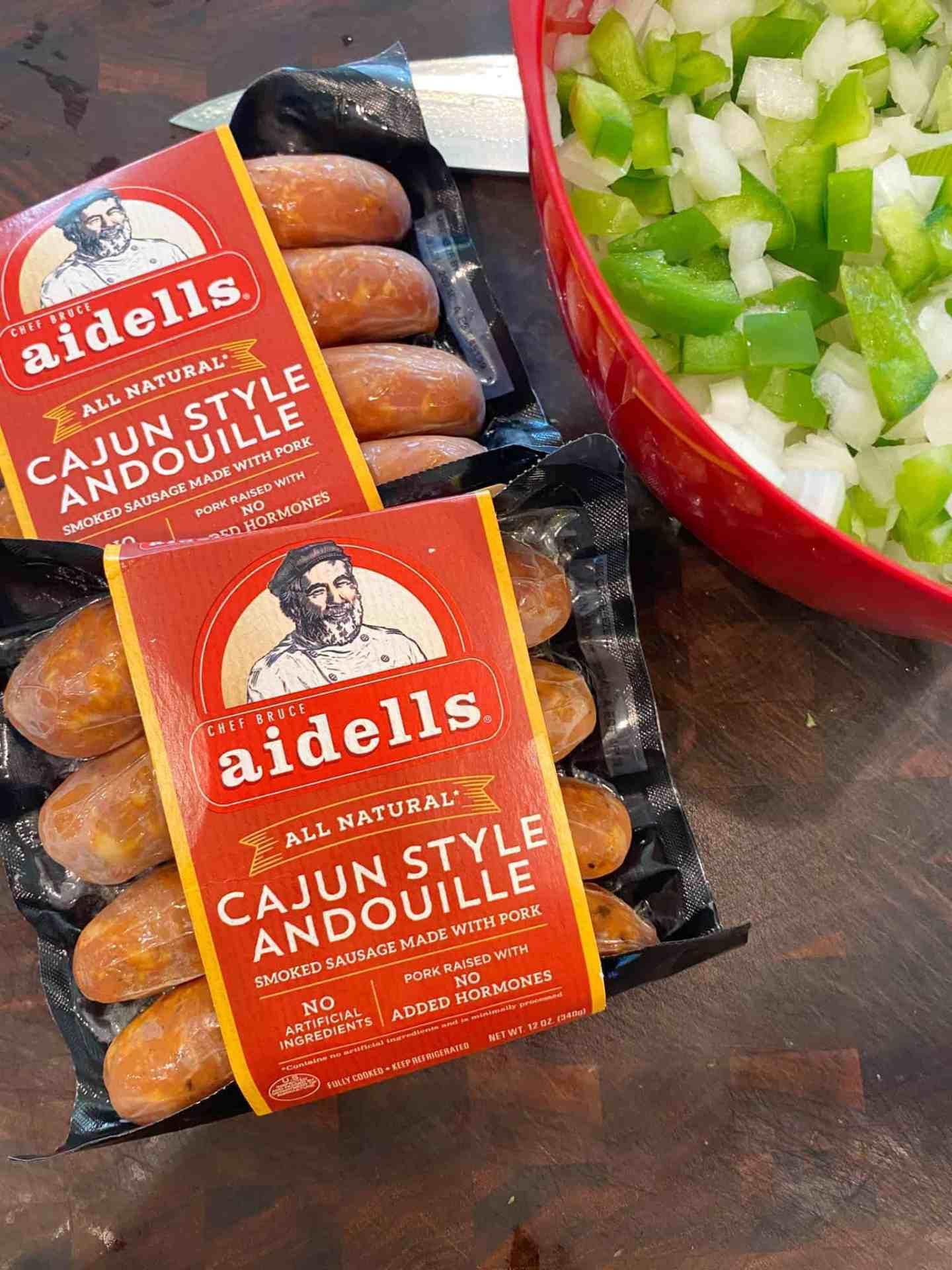 andouille-sausage