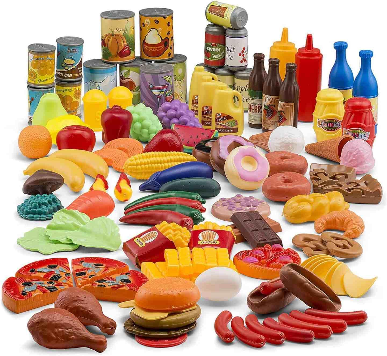 122-Piece-Play-Food-Set