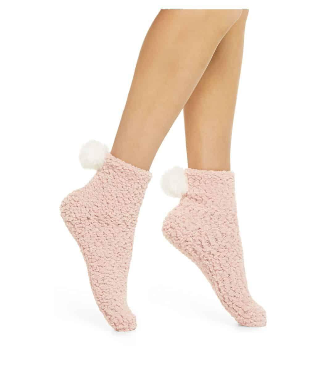 Pom-Pom-Ankle-Socks