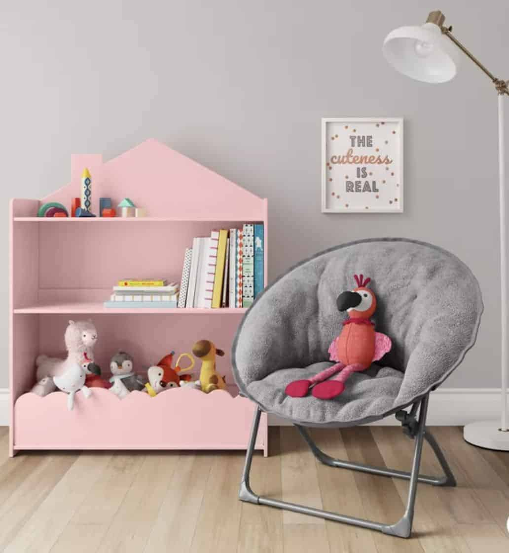 kids-fuzzy-saucer-chair