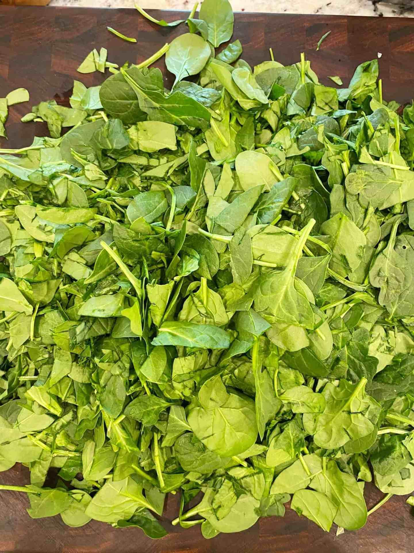 chop-spinach