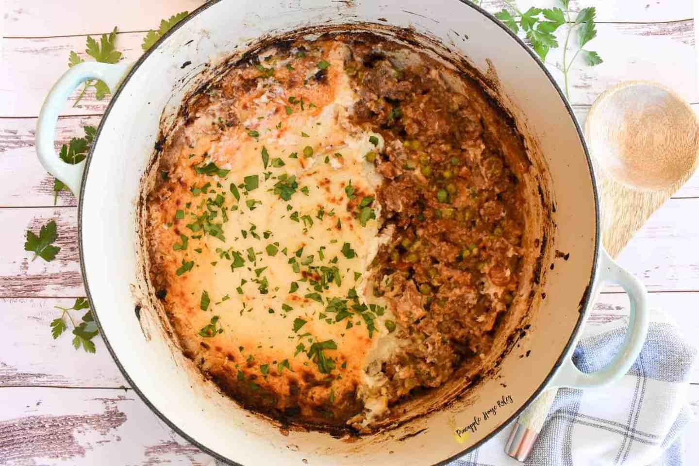 Lighter Shepherds Pie
