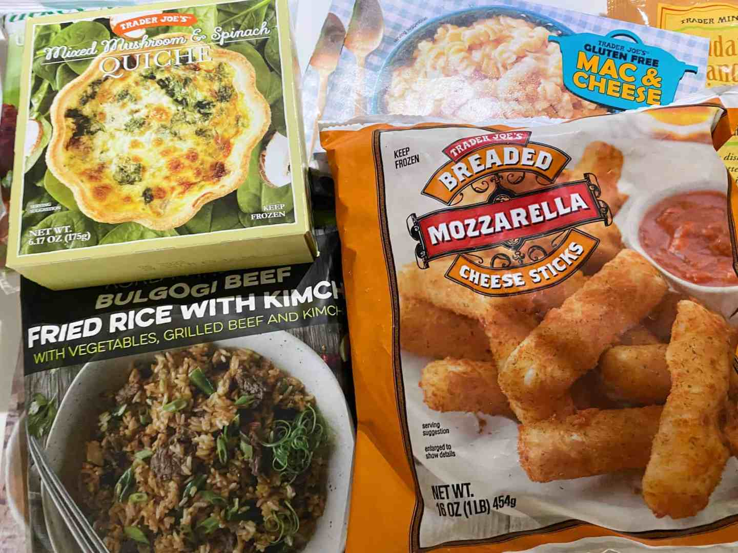 trader-joes-quiche-mozzarella-sticks