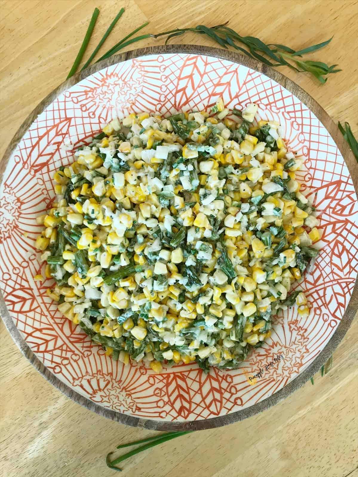 Grilled Corn and Asparagus Salad