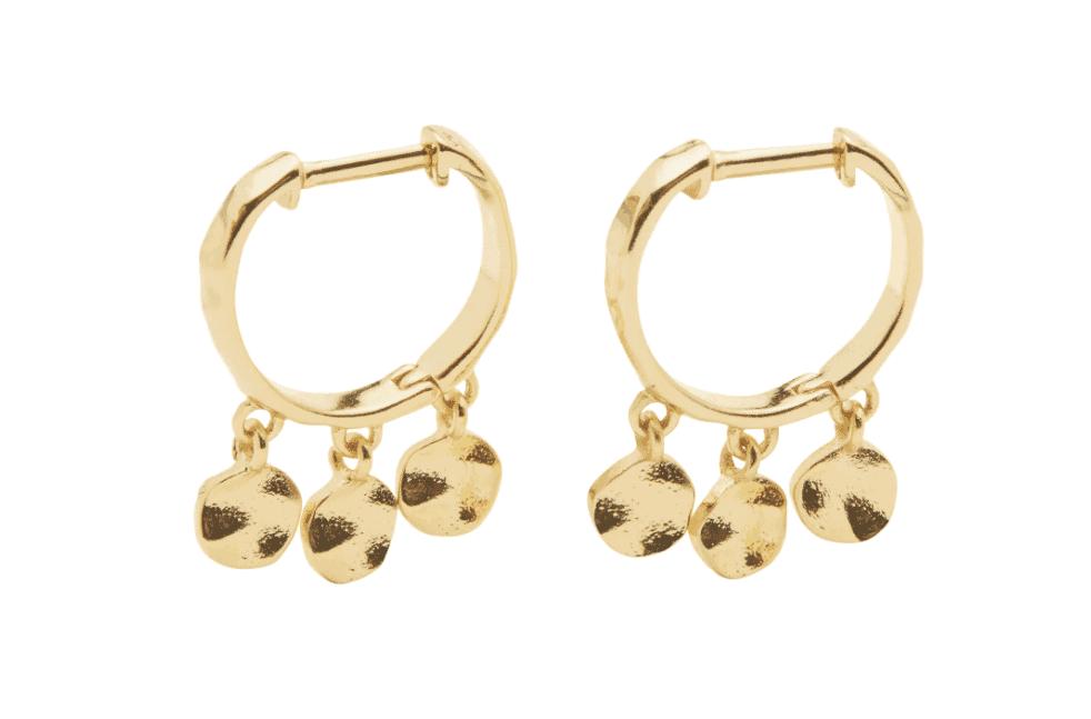gorjana hoop earrings