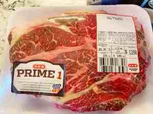 prime roast beef chuck