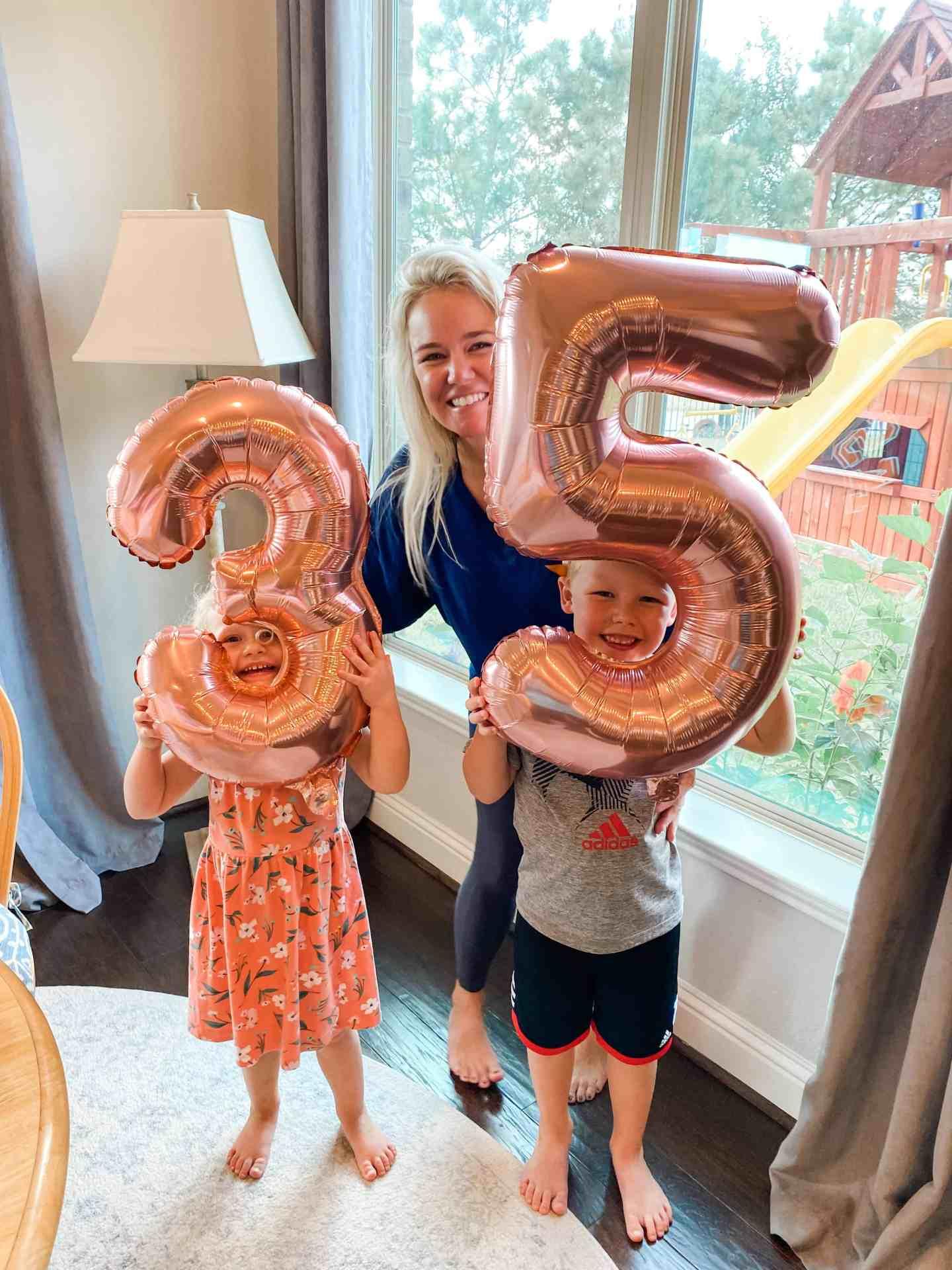 35 balloons