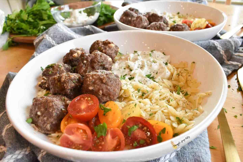 Greek Meatballs recipe