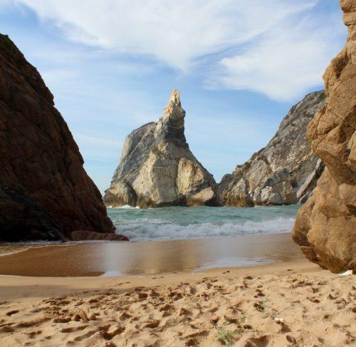 Praia da Ursa.