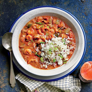 Crawfish Etoufee Traditional Mardi Gras Food Ideas and Recipes curated by Pineapple Paper Co.
