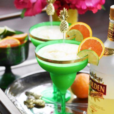Cinco de Mayo Drink Recipe – Pineapple Orange Frozen Margarita