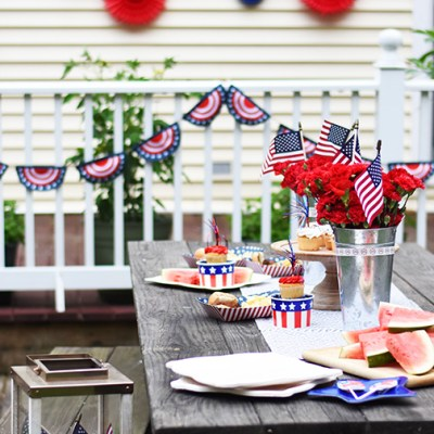 4th of July Picnic with Oriental Trading
