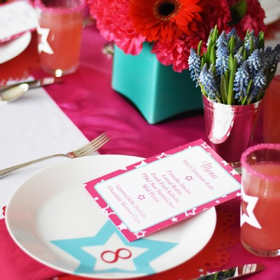American Girl Birthday Party Details and Designs