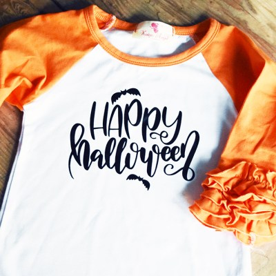 DIY Halloween Shirts (Two Designs!)