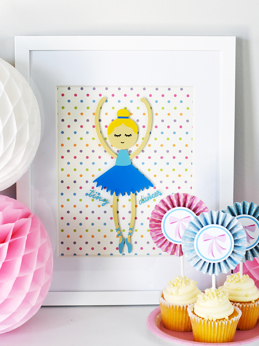 Tiny Dancer Wall Art (FREE with the Cricut Maker!)