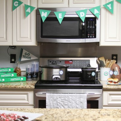 Game Day Printable Party Supplies at Everyday Party Magazine