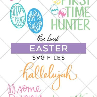 Easter SVG Files for Cricut and Silhouette Machines